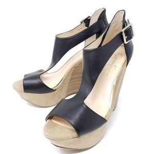 Jessica Simpson KALACHEE Plaftorm Wedge Sandals